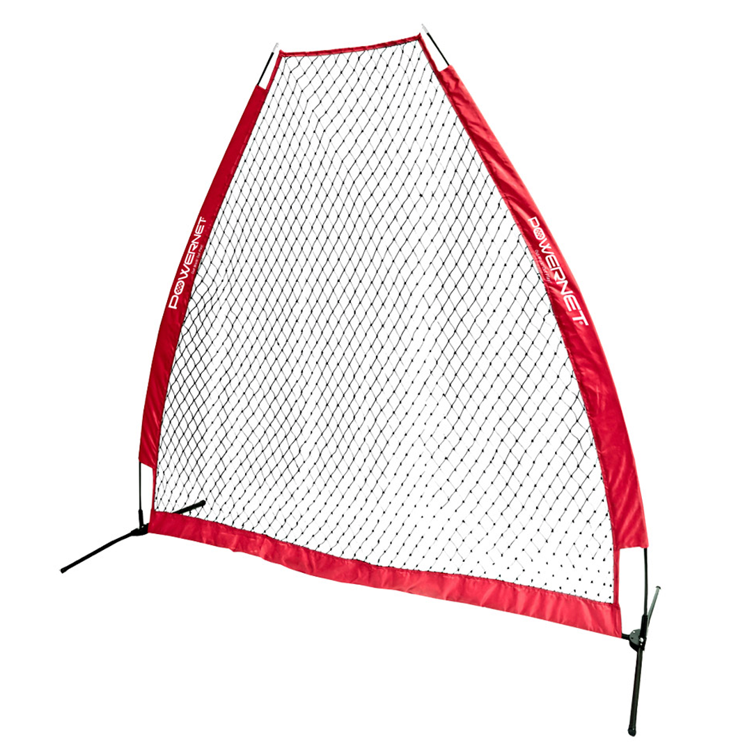 PowerNet A-Frame Pitching Screen 7x7 Protection Screen/Training Net