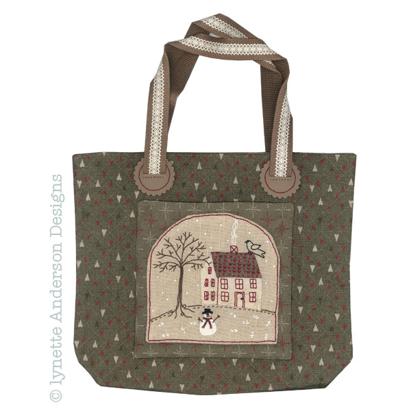 Winter House Bag - pattern