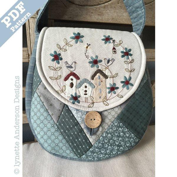 Birdhouse Bag - Downladable pattern