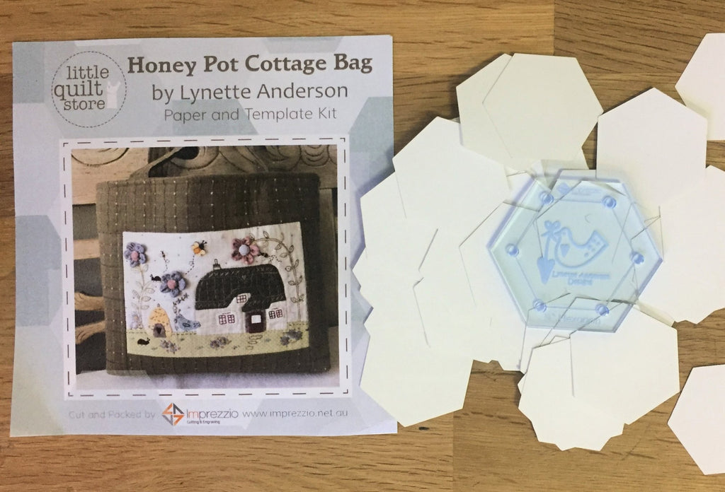 Honeypot Cottage Paper Pieces and Template Pack