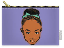 "Load image into Gallery viewer, ""Ameera"" Carry-All Pouch"