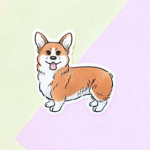 Pembroke Welsh Corgi Sticker