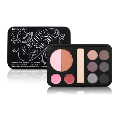 BH Cosmetics Forever Smokey Makeup Palette - All-In-One Smokey Palette