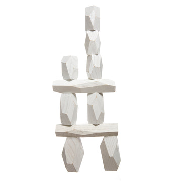 Areaware Balancing Blocks White