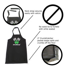 Load image into Gallery viewer, AutoAprons Travel Bib | Clothing Protector Apron