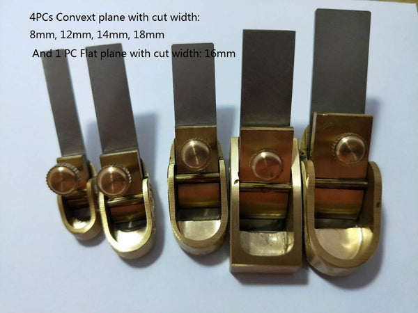 Bai Fei Te luthiers' brass planes for musical instruments