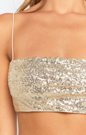 Kenya Crop Gold Sequin