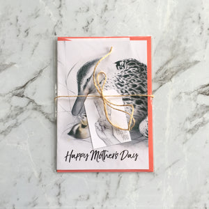 Ready to ship Imperium Illustrations Mother Duck Happy Mother's Day card