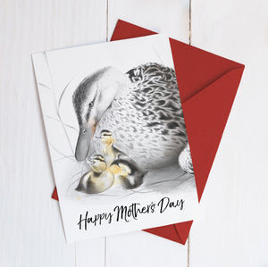 Mother Duck Happy Mother's Day Imperium Illustrations greeting card