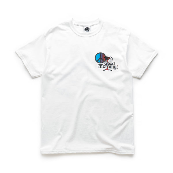 Good Morning Shroom SS Tee - White