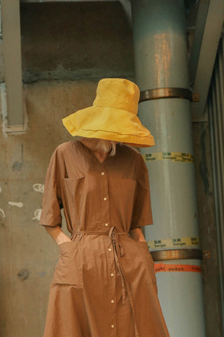 Zahra Hat Yellow