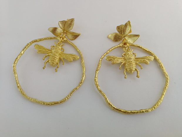 Honey to the Bee Bloom Earrings