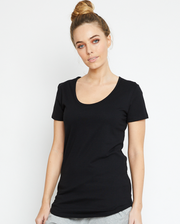 Basic Tee, Organic Cotton Black