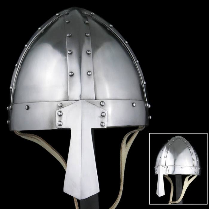 Spangenhelm With Wide Nasal - Helmets