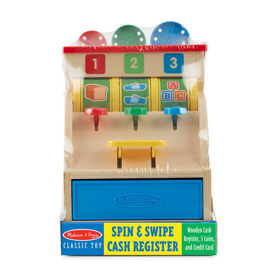 Wooden Shop Till by Melissa and Doug - Baby Prestige UK