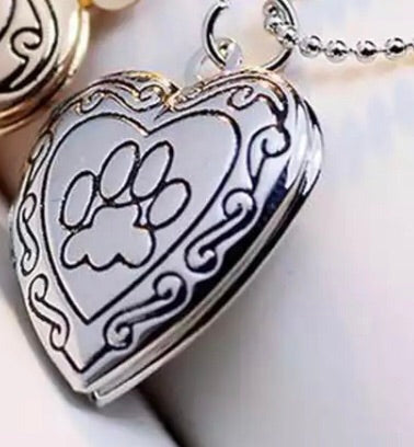 Pet Memorial Locket Necklace