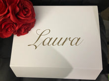 Load image into Gallery viewer, DIY Wedding/Engagement Name/Proposal Box Decal
