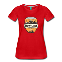 Load image into Gallery viewer, Women's Mountain's Calling T-Shirt - red