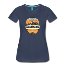Load image into Gallery viewer, Women's Mountain's Calling T-Shirt - navy