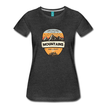 Load image into Gallery viewer, Women's Mountain's Calling T-Shirt - charcoal gray