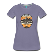 Load image into Gallery viewer, Women's Mountain's Calling T-Shirt - washed violet
