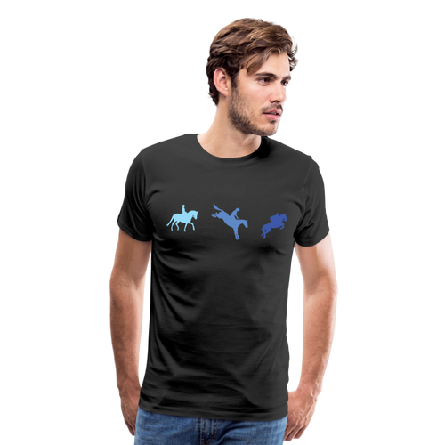Men's 3-Day Eventing T-Shirt - black