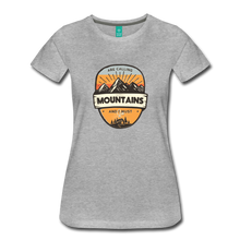 Load image into Gallery viewer, Women's Mountain's Calling T-Shirt - heather gray