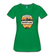Load image into Gallery viewer, Women's Mountain's Calling T-Shirt - kelly green