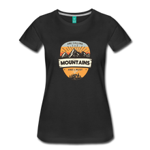 Load image into Gallery viewer, Women's Mountain's Calling T-Shirt - black