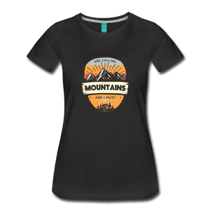 Women's Mountain's Calling T-Shirt - black