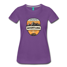Load image into Gallery viewer, Women's Mountain's Calling T-Shirt - purple