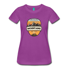 Load image into Gallery viewer, Women's Mountain's Calling T-Shirt - light purple
