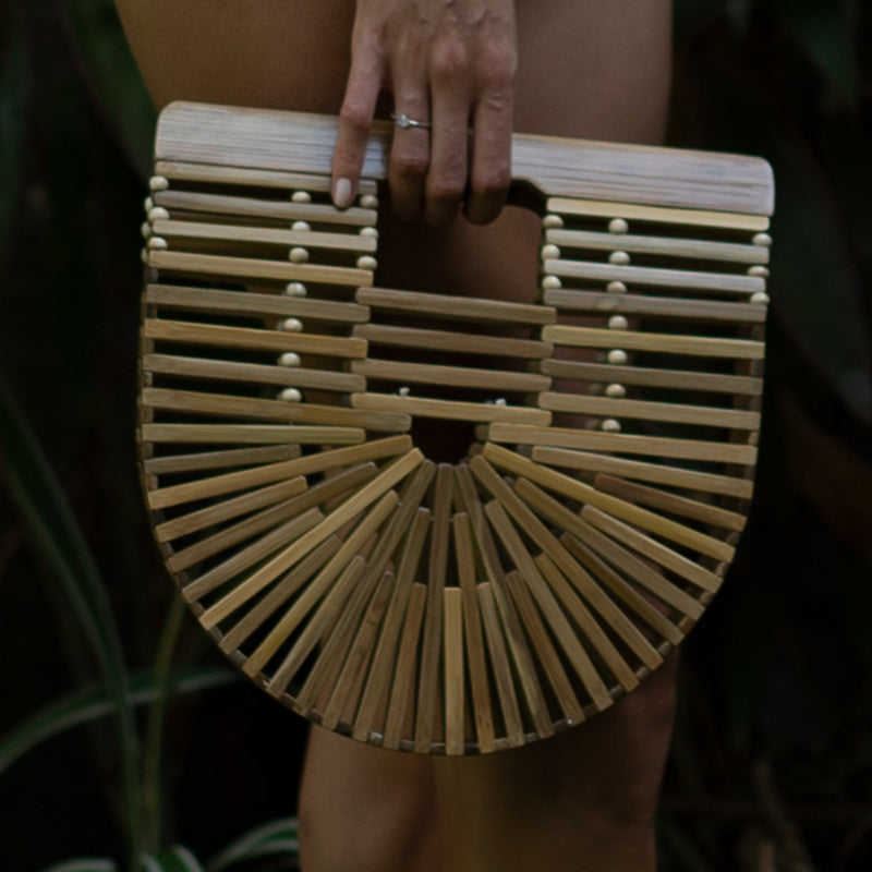 Natural Bamboo Bag