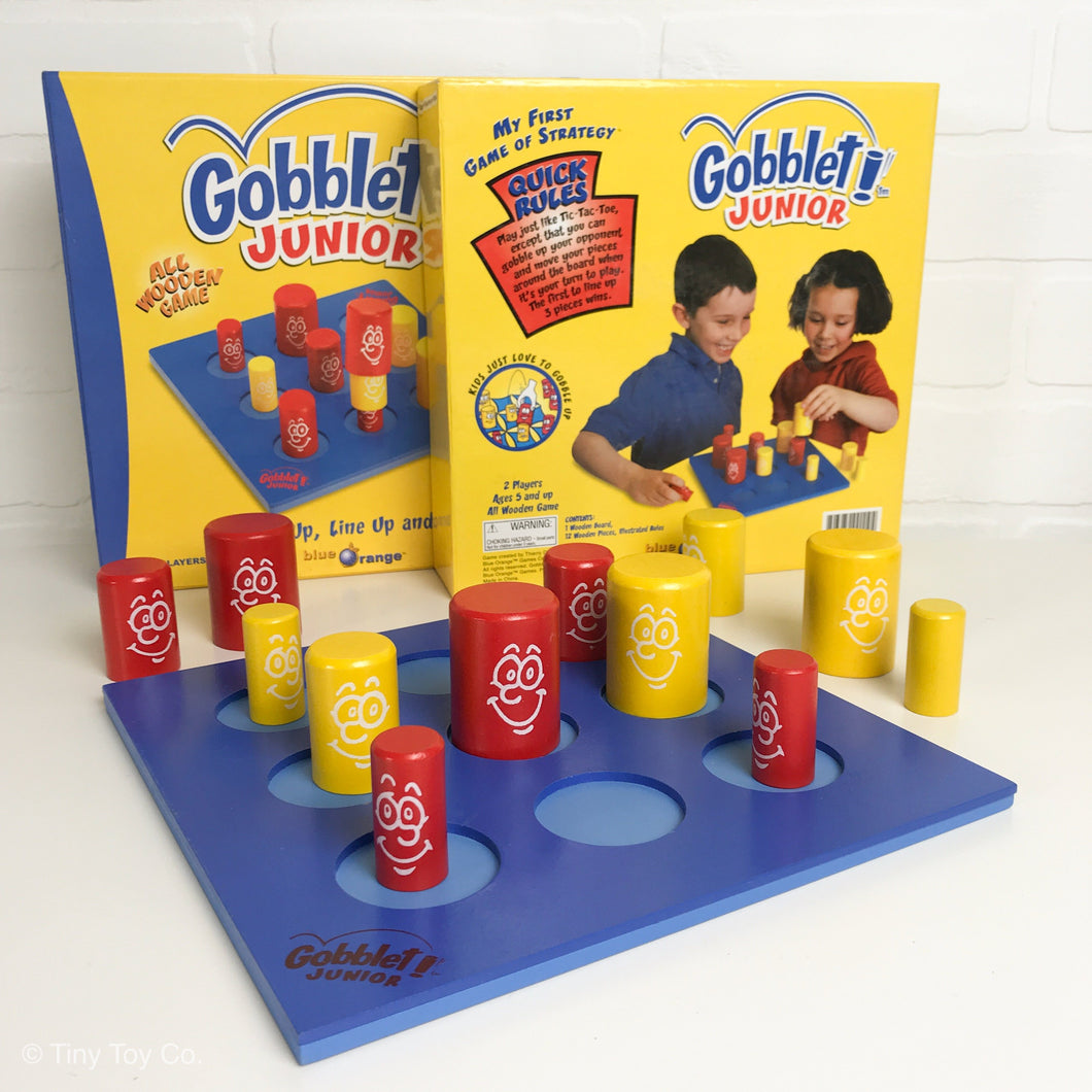 Gobblet Junior *WOODEN GAME*