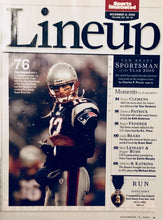 Tom Brady New England Patriots Sports Illustrated Sportsman of the year 2005 !!!