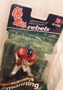 Ole Miss Rebels Eli Manning Mcfarlane College Series 2 Figure