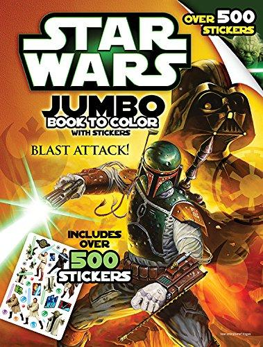 Star Wars: Giant Book to Color with Stickers