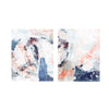 WT18-LSWO282/LSW0283 Abstract Marble Set of 2