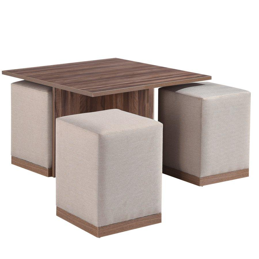 Shawn Coffee Table W/ 4 Stools