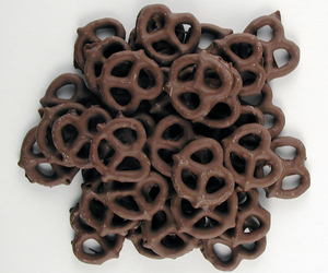 Chocolate Swirl Pretzels