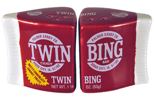 Twin Bing Salt & Pepper Shakers