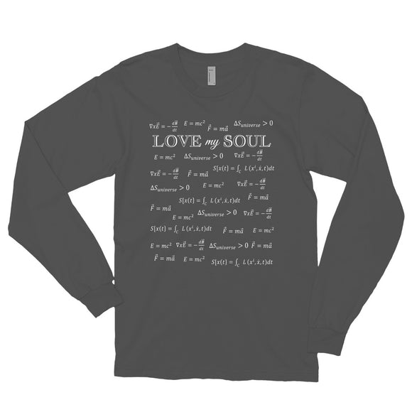 Love My Soul Equations Loose Long Sleeve