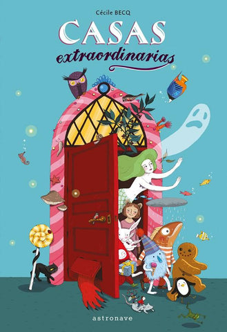 Books in Spanish for kids - Casas extraordinarias