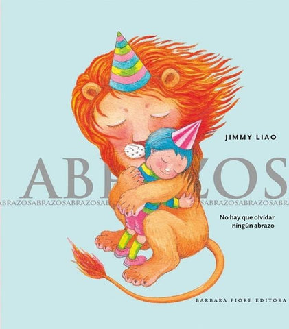 Books in Spanish for kids - Abrazos