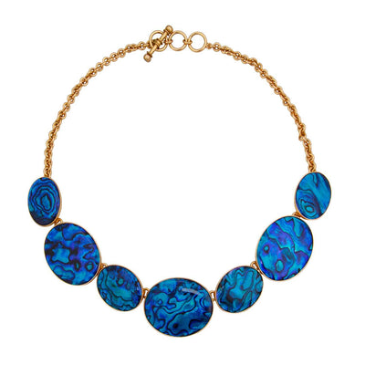 Alchemia Blue Abalone Necklace