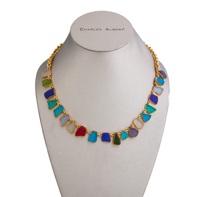 Alchemia Recycled Glass Necklace - Small