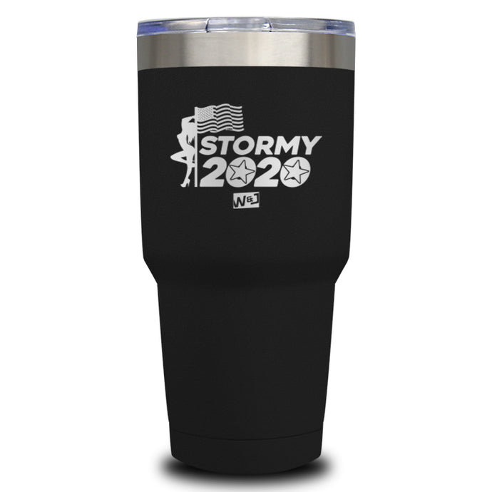 Stormy 2020 Laser Etched Tumbler (Premium)