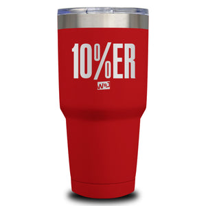10 Percenter Laser Etched Tumbler (Premium)
