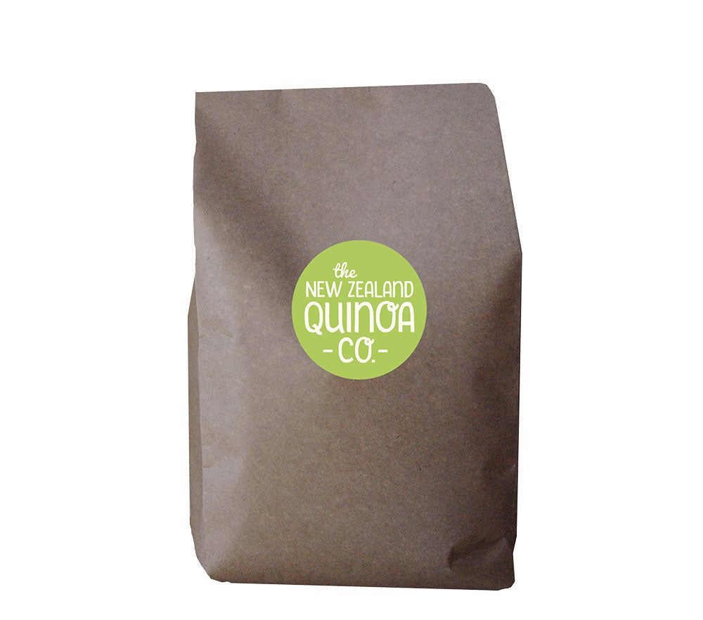 1kg of Natural Quinoa in a home compostable bag