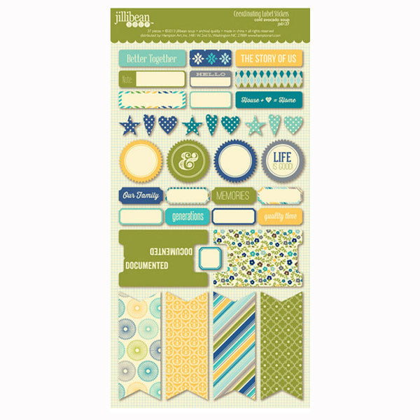 Cold Avocado Soup Coordinating Labels HA-JB0127